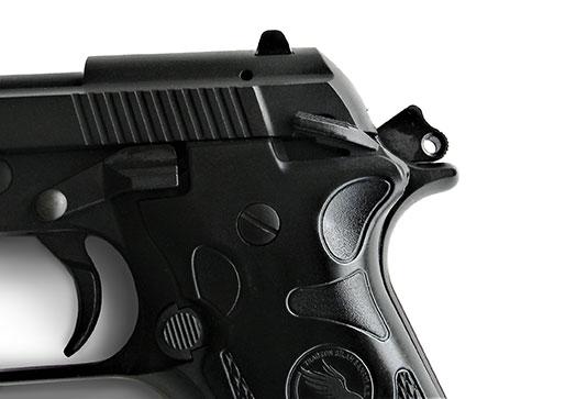 Manual safety on the Tisas Fatih pistol