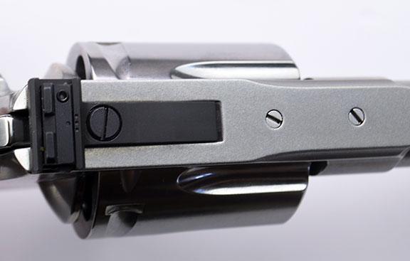 Colt Anaconda's rear sight