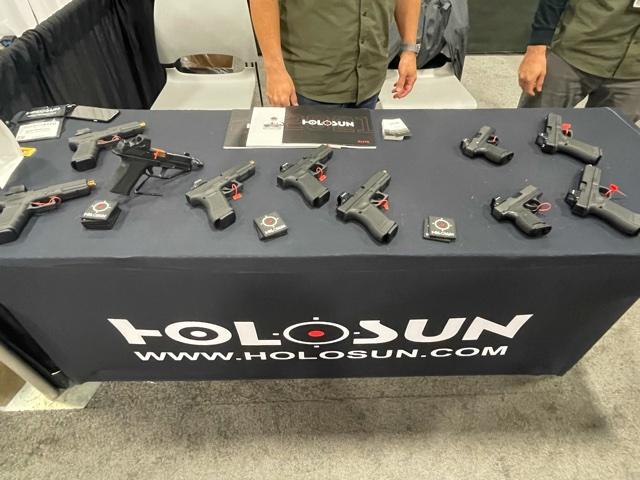 Holosun Red Dots on Pistols