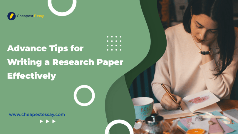 tips for writing a research paper