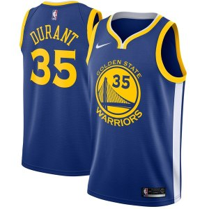 Men's Golden State Warriors Kevin Durant Nike Royal Swingman Jersey - Icon Edition