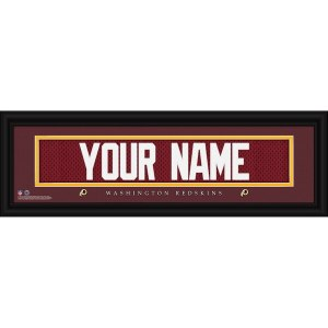 Washington Redskins Personalized Name Plate