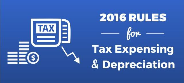 Tax Expensing and Depreciation