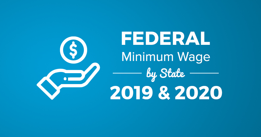 federal minimum wage 2019 & 2020