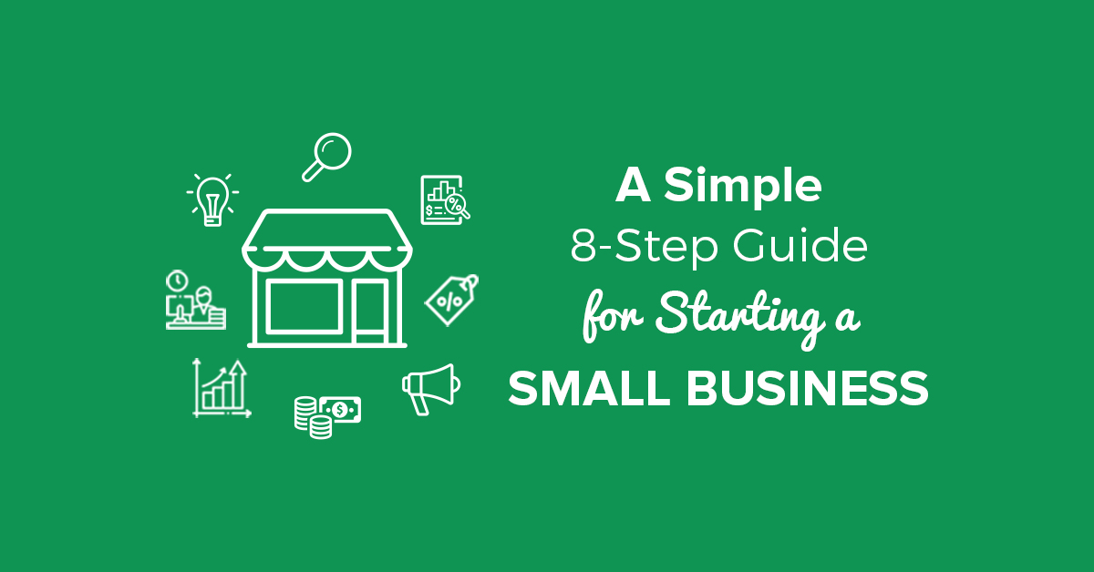 a simple 8 step guide for starting a small business \u2014 checkmark blogstarting a small business