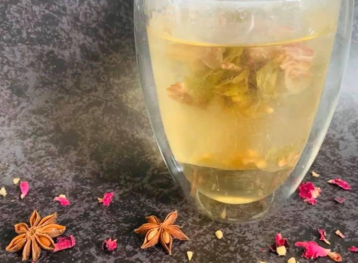 Eigen gemaakte thee
