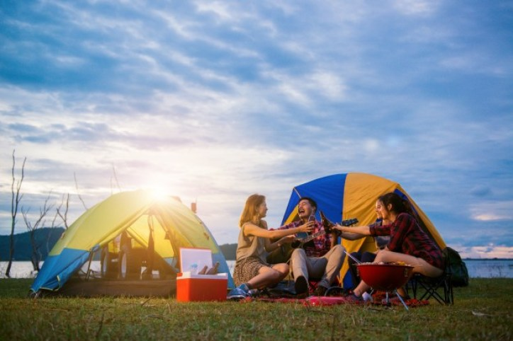 Welcoming 2021 Mid-Covid A New Year 'Celebration Guide- camping