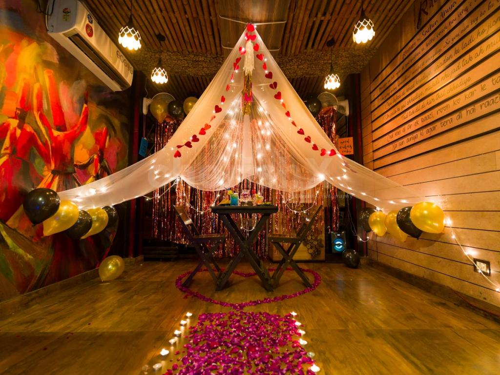 10 Safe Places to go on a date this Valentine's Day 2021 in Delhi NCR-rababi food studio