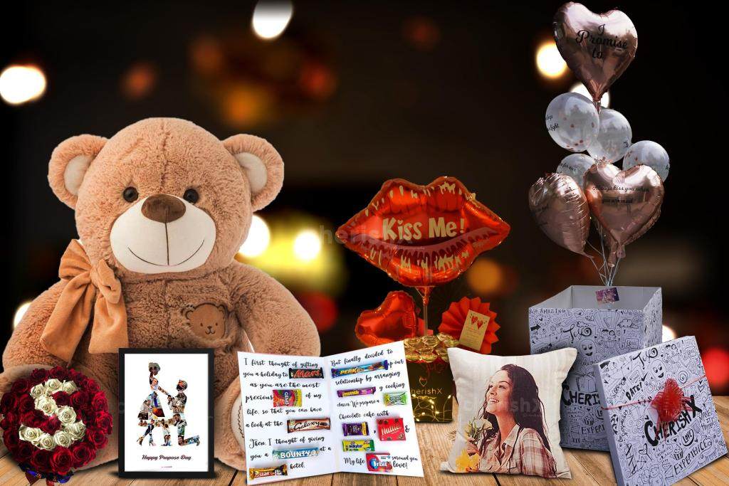 Top 7 Irresistibly Awesome Teddy Day Surprises That Will Make Your Partner Crazy for you- v-day week combo