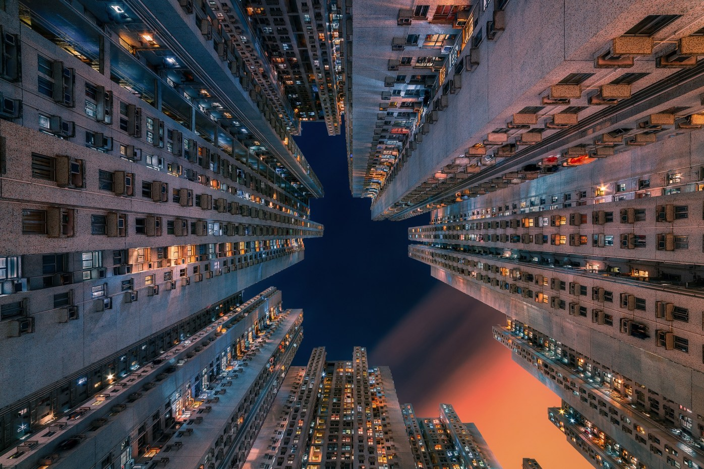 Utopia - Apartment blocks in Tseung Kwan O, Hong Kong