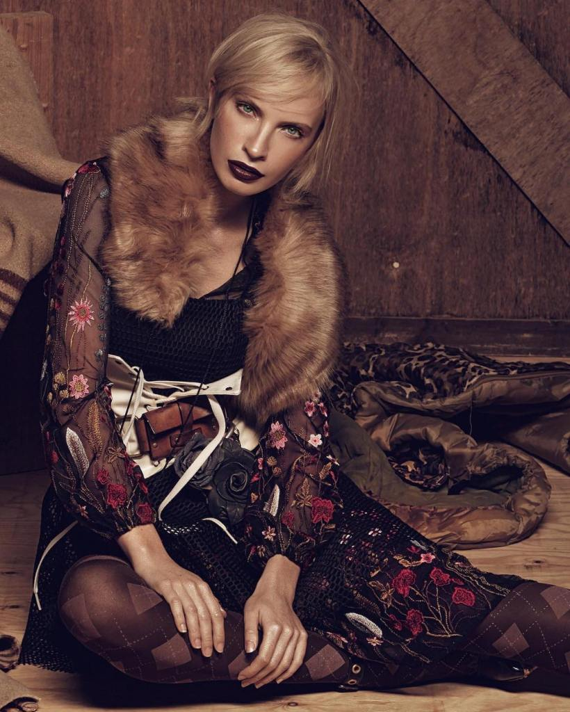 Model Kate Alexeeva