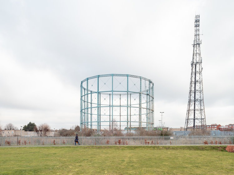 Mitcham Gas Holder Station by Francesco Russo