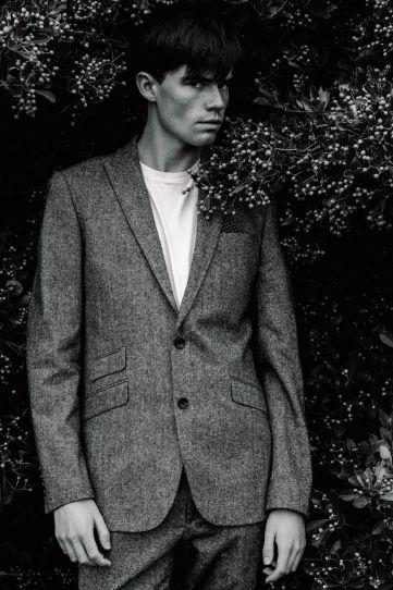 Tora Alexandersen male fashion photography