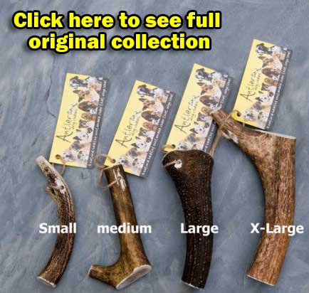 Antler Dog Chews Collection