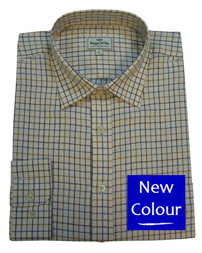 Hoggs of Fife Pure Cotton Tattersall Shirts