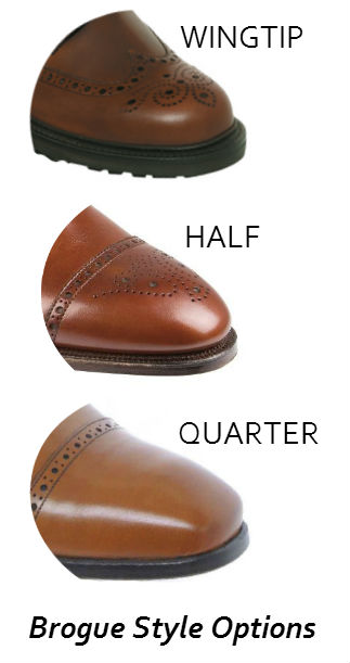 brogue shoes styles