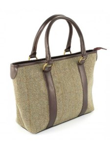 Derby Tweed Tote Bag