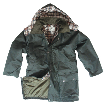 Junior Hoggs Wax Jacket