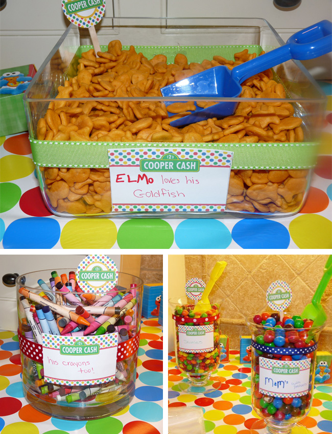 Elmo Party Ideas Centerpieces