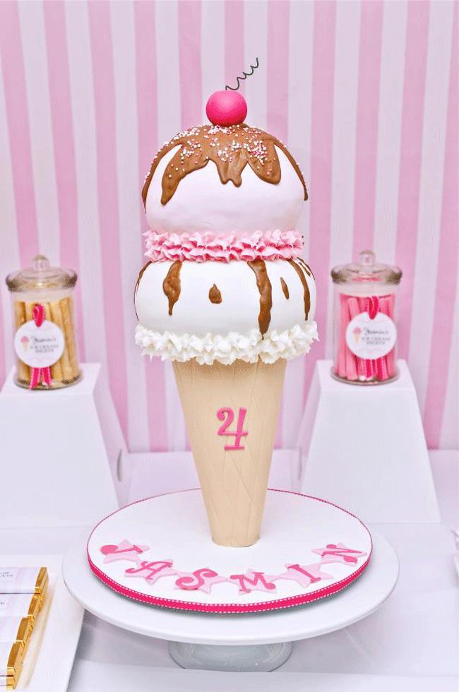 Southern Blue Celebrations Ice Cream Decorated Cake Ideas