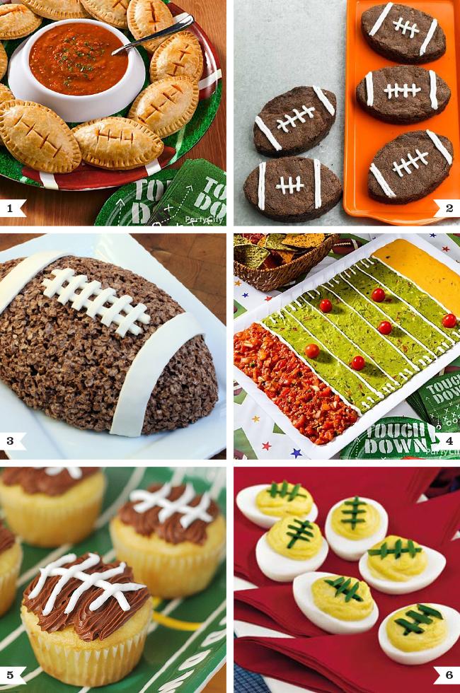 Football Party Food Amp Recipes Chickabug