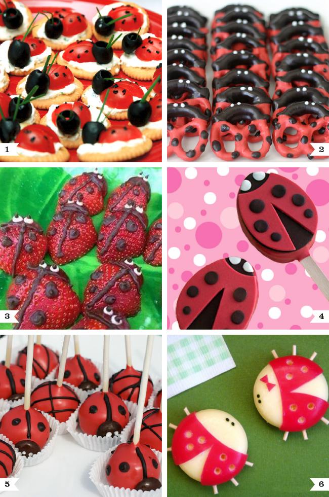 Ladybug Party Food Ideas Chickabug