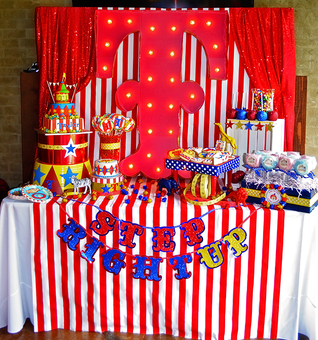 Circus Themed 1st Birthday Party Ideas