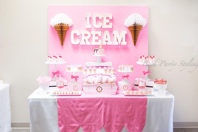 Ice Cream Party Hadley Is 1 Chickabug