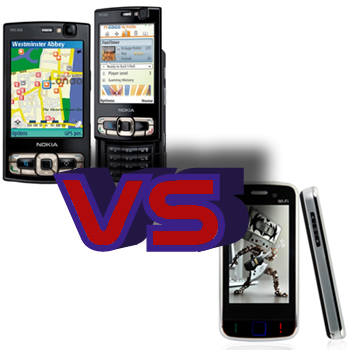 Nokia N95 vs Odyssey