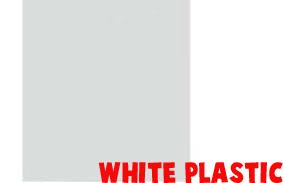 white plastic copy