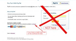 pay by credit card through paypal step 1 copy