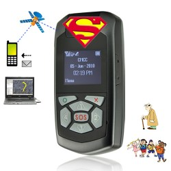Personal GPS Tracker with OLED Screen and Two Way Calling [CVQJ-G224]