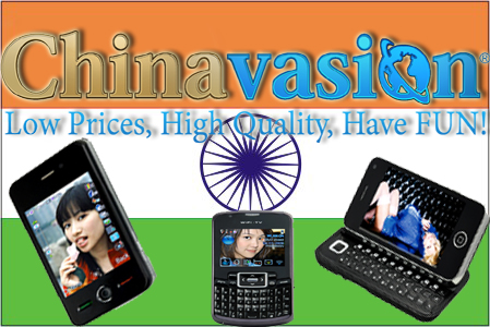 Yes, you can use Chinavasion mobiles in India!