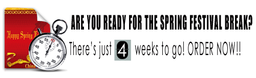 4 weeks to go warning