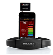 Exercise Heart Rate Monitor for iPhone and Android