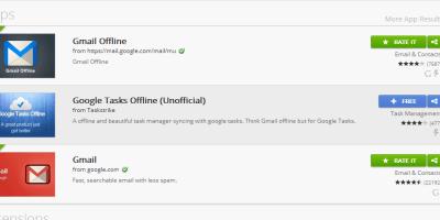 offline google mail