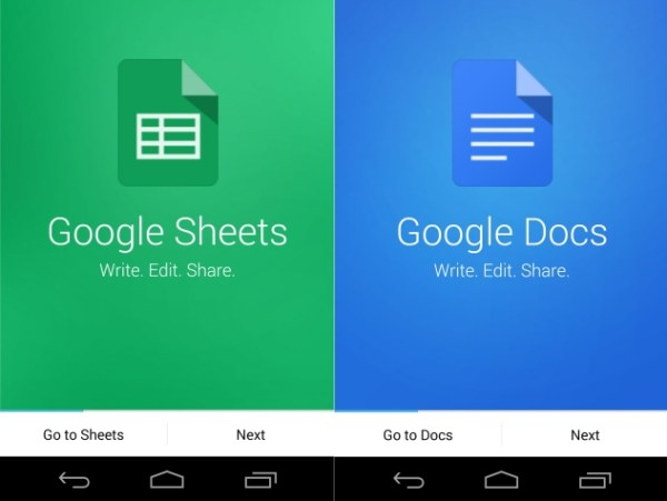 google_docs_sheets_android_app_screenshots_ndtv