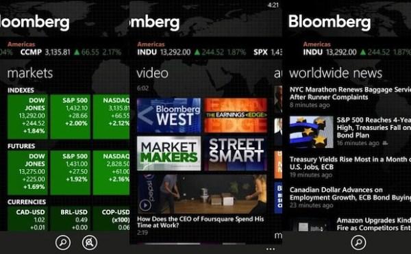 Bloomberg app