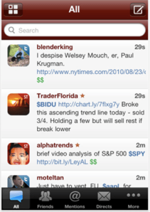 StockTwits app