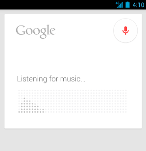 google now song