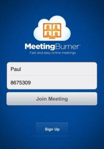 Meeting Burner