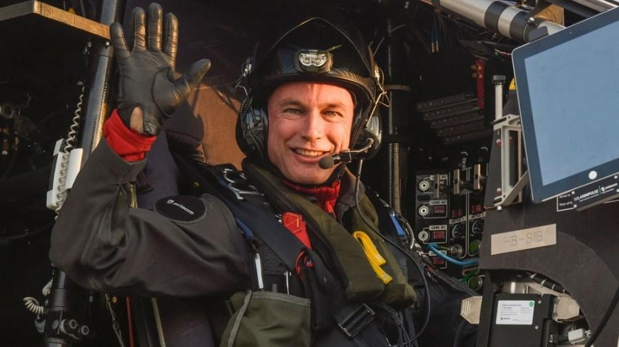 Solar Impulse Cockpit