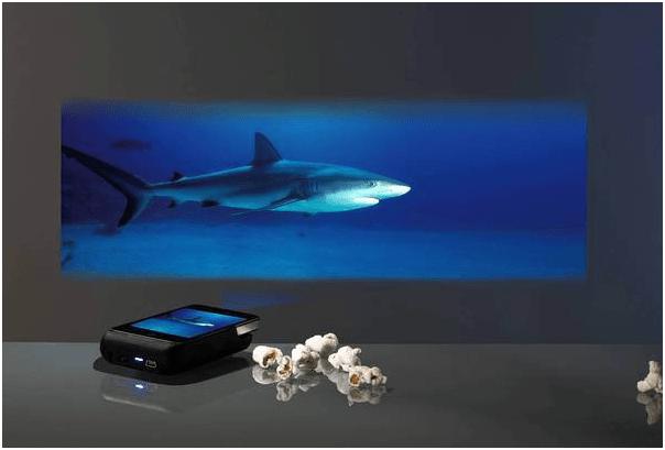 Brookstone Pocket Projector