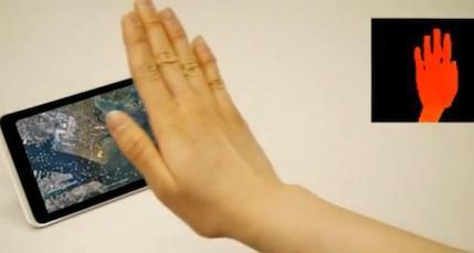 Gesture Sensing smartphone 08