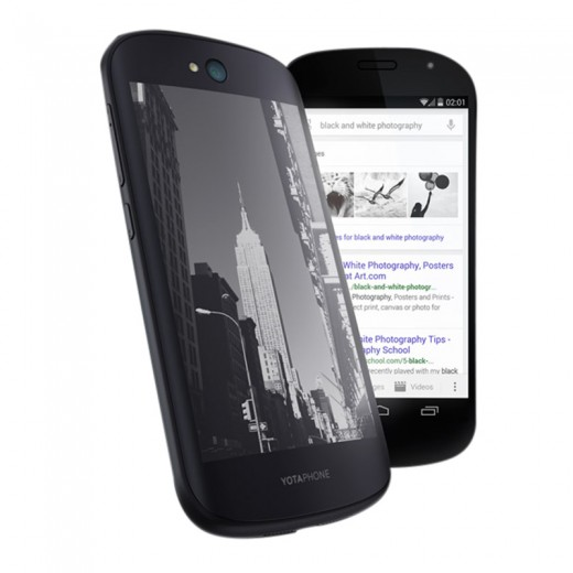 Yotaphone 2 Dual Display
