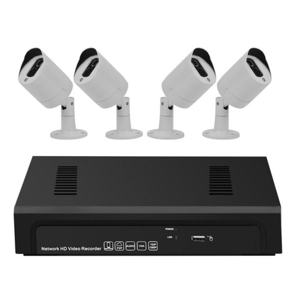 4 Channel 1080P NVR Kit