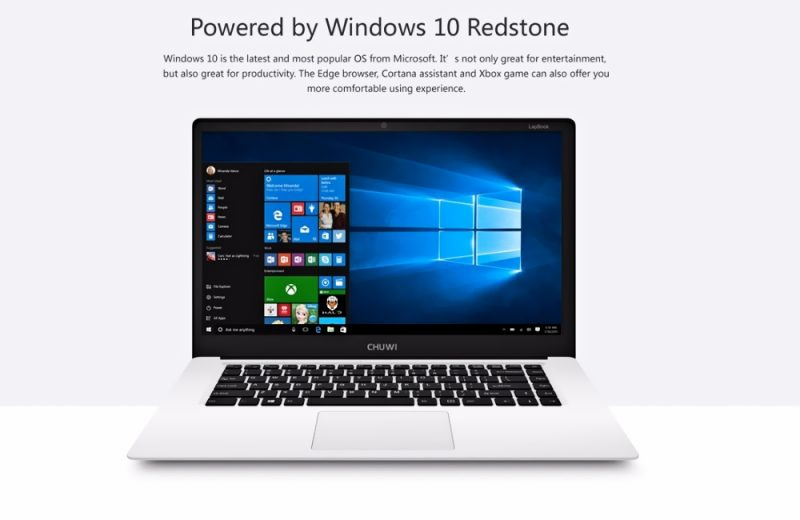 Chuwi LapBook Windows 10