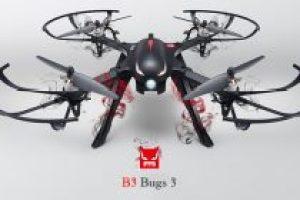 Le MJX B3 Bugs 3 RC Drone ne connaît aucune limite
