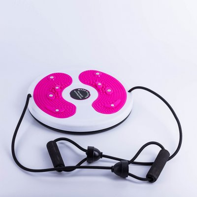 Indoor Fitness Exercise Figure Twister Twisting Waist Disc Balance Rotating Board with Pull Rope