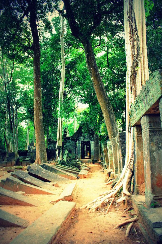 Temple de Koh Ker, Cambodge
